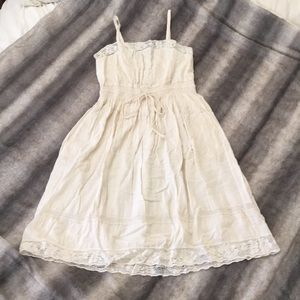 Smocked Waist Rebecca Taylor Dress